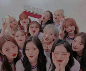 aesthetic, girls, and haseul image