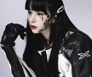 asian, model, and robot image