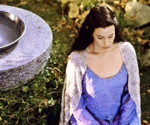 liv tyler, lord of the rings, and j r r tolkien image