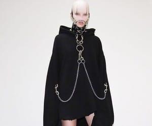 black, fashion, and alien image