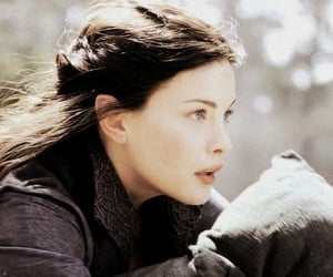 blue eyes, liv tyler, and lord of the rings image