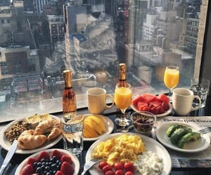 america, eggs, and juice image