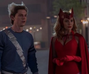 quicksilver, scarlet witch, and wandavision image
