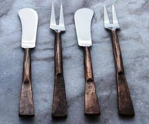 bar accessories, icecream spoons, and stainless steel flatware image