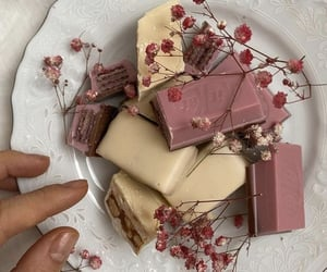 flowers, food, and chocolate image