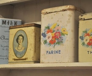 Vintage Kitchen Containers   @eve365