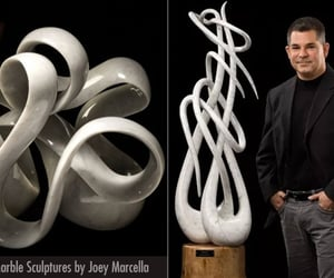 art, sculpture, and sculptures image