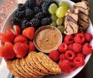 blackberries, breakfast, and healthy image