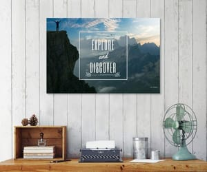 adventure, caligraphy, and mountains image