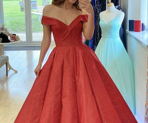 dresses, ball gown dress, and evening dress image