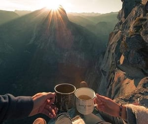 adventure, air, and coffee image