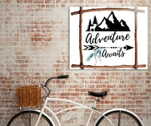 adventure, mountain goat, and mountains image