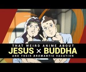 asian cinema, anime, and religion image