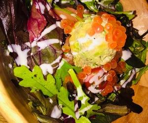 avocado, lunch, and salada image