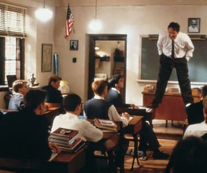 80s, dead poets society, and film image
