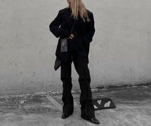 black, fashion, and lookbook image
