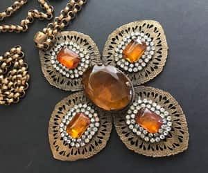 etsy, statement necklace, and large pendant image
