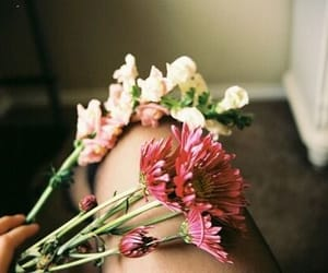 flowers, vintage, and tumblr image