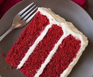 cake, red velvet, and tumblr image