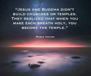 Buddha, jesus, and Temple image