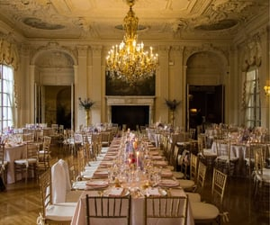 dinner, wedding, and bridal image