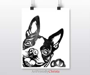 etsy, wall art, and dog lovers gift image