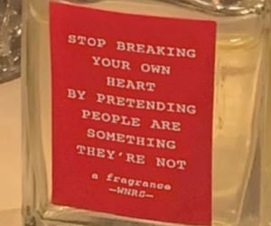 perfume, quotes, and red image