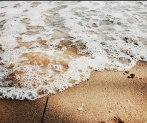 foam, sea, and aesthetic image