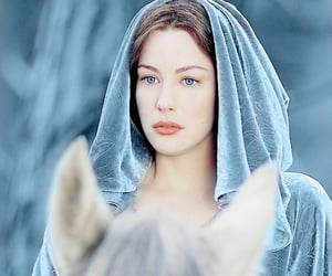 fantasy, liv tyler, and lord of the rings image