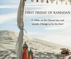 blessed, friday, and islam image