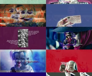 aesthetic, edit, and harley quinn image