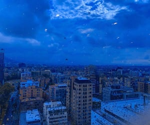 blue, archive, and rain image