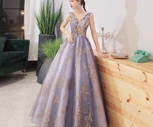 promdress, party dress, and Prom image