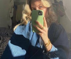 aesthetic, fashion, and blue image