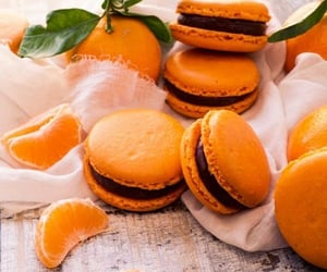 chocolate, Cookies, and clementines image