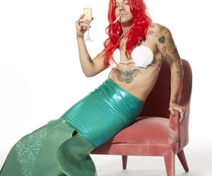styles, mermaid, and Harry Styles image