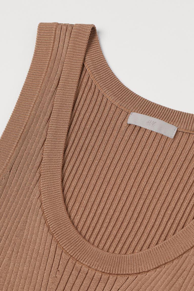 H&M and ribbed dress image