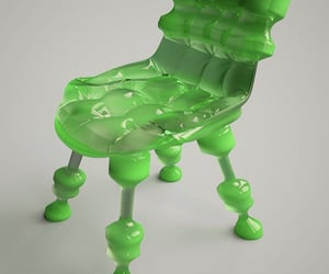 design, seats, and green image