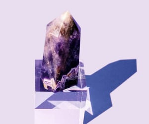 crystals, amethyst, and minerals image