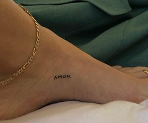 body, foot, and Tattoos image