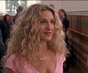 90s, Carrie Bradshaw, and pink image
