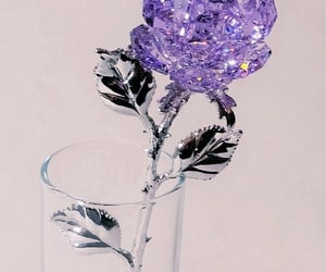lilac, objects, and crystals image