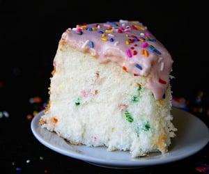 Cake Batter Angel Food Cake