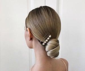 bun, hair, and braid image