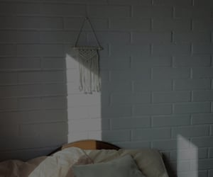 bedroom, minimalist, and room image