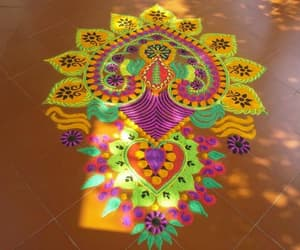 art, rangoli, and kolam image