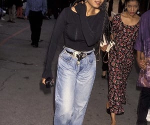 janet jackson and 90s style image