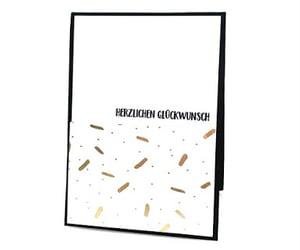 cardmaking, diy, and geburtstagskarte image
