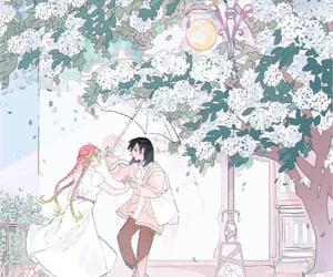 anime, couple, and anime boy image