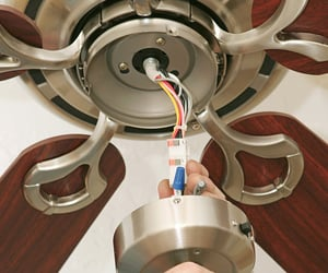 ceiling fan installation image